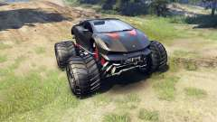 Lamborghini Sesto Elemento Monster Truck для Spin Tires