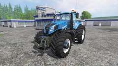 New Holland T8.320 600EVOX v1.11 blue