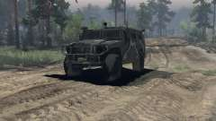 ГАЗ 2974 Тигр для Spin Tires