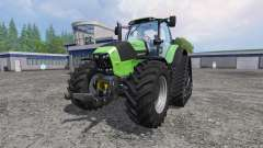 Deutz-Fahr Agrotron 7250 TTV FL QuadTrac для Farming Simulator 2015