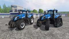 New Holland T8.320 and T8.435 SmartTrax