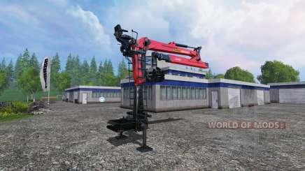 Гидроманипулятор Palfinger Epsilon M80F для Farming Simulator 2015