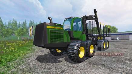 John Deere 1510E для Farming Simulator 2015