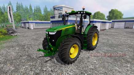 John Deere 7280R v2.0 для Farming Simulator 2015