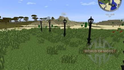 Lamps And Traffic Lights для Minecraft