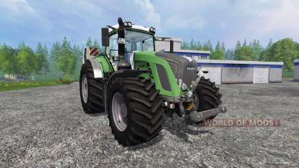 Fendt 933 Vario Green для Farming Simulator 2015
