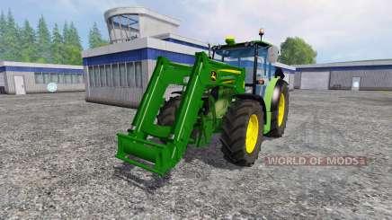 John Deere 6110RC Full для Farming Simulator 2015