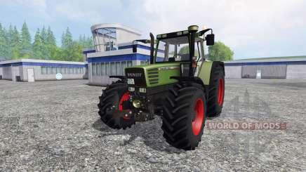 Fendt Favorit 515C Turbo для Farming Simulator 2015