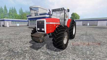 Massey Ferguson 8140 v2.0 для Farming Simulator 2015