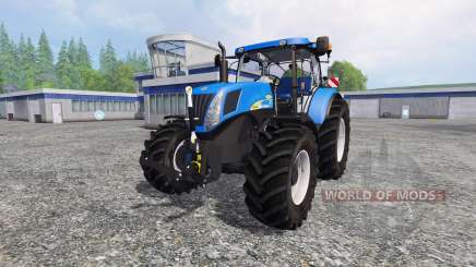 New Holland T7040 v2.0 для Farming Simulator 2015