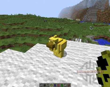 Mo Chickens [1.7.2] для Minecraft