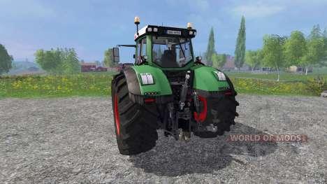 Fendt 1050 Vario v0.1 для Farming Simulator 2015