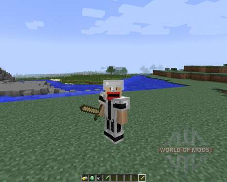HybridCraft: Refused [1.7.2] для Minecraft