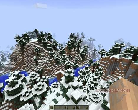 FrostCraft (Frozen) [1.7.2] для Minecraft