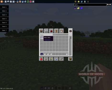 Warp Book [1.7.2] для Minecraft