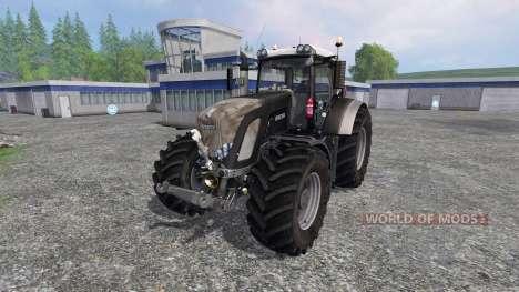 Fendt 936 Vario Black v2.0 для Farming Simulator 2015