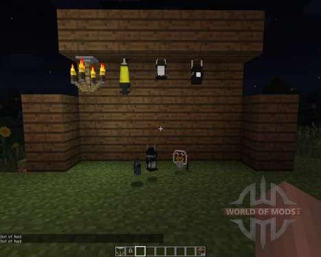 Amnesia Lights [1.7.2] для Minecraft