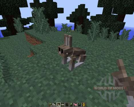Craftable Animals [1.8] для Minecraft