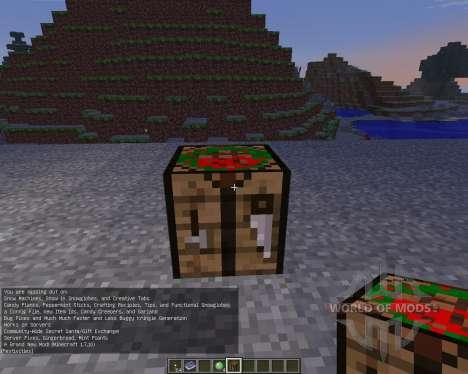 Christmas Festivities [1.6.4] для Minecraft