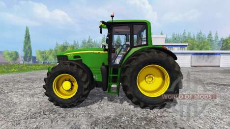 John Deere 7430 Premium для Farming Simulator 2015