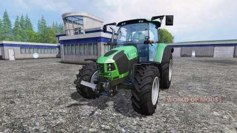 Deutz-Fahr 5110 TTV для Farming Simulator 2015