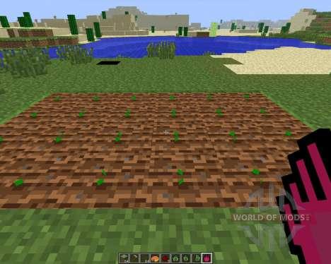 Planter Helper [1.6.4] для Minecraft
