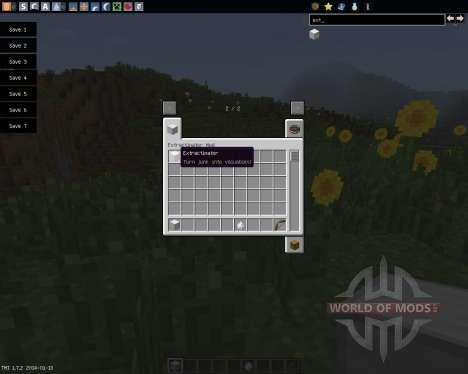 Extractinator [1.7.2] для Minecraft