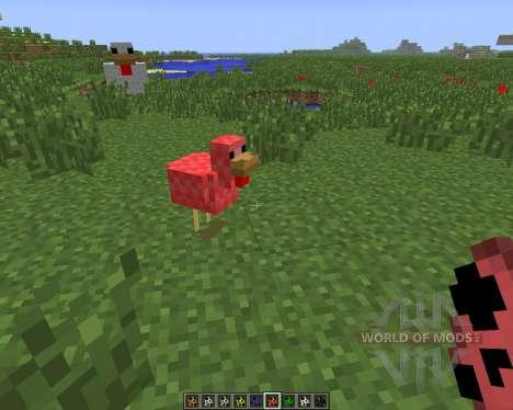 Mo Chickens [1.6.4] для Minecraft