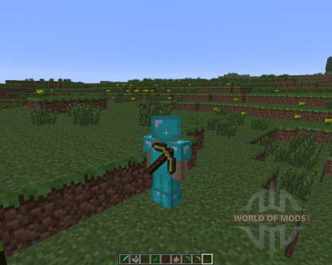 Back Tools [1.6.4] для Minecraft