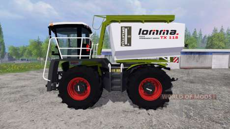 CLAAS Xerion 3800 Saddle Trac для Farming Simulator 2015