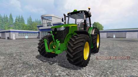 John Deere 7310R v3.0 для Farming Simulator 2015