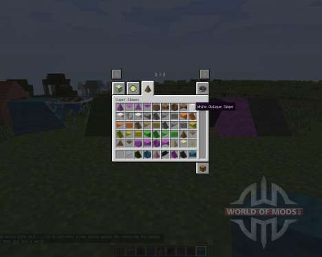 Super Slopes [1.7.2] для Minecraft