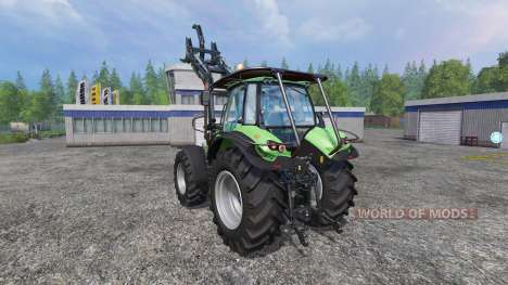 Deutz-Fahr Agrotron 7250 TTV v2.0 forest для Farming Simulator 2015