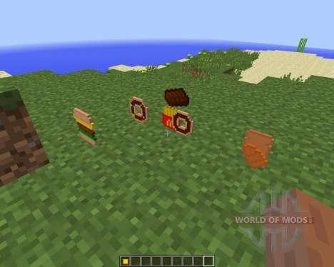 Extra Food [1.8] для Minecraft