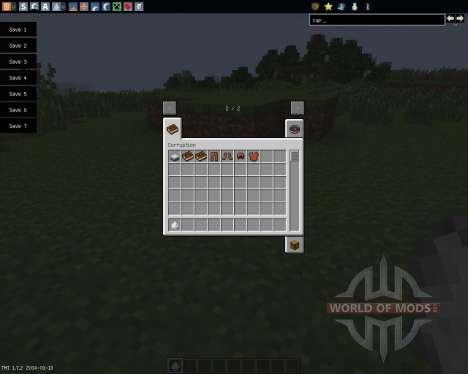 Corruption [1.7.2] для Minecraft