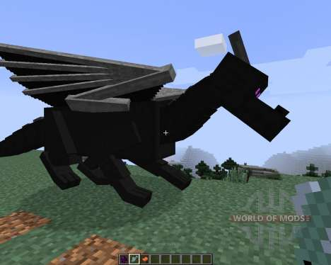 Dragon Mounts [1.7.2] для Minecraft