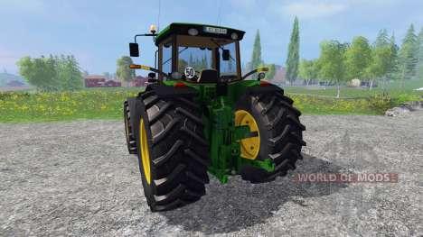 John Deere 8220 для Farming Simulator 2015