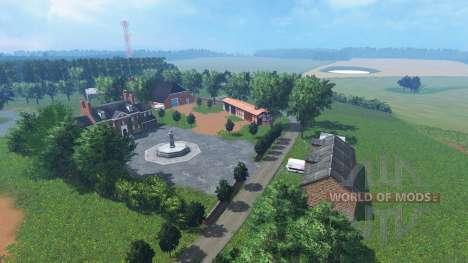 Benz North West Mecklenburg v0.9 Beta для Farming Simulator 2015