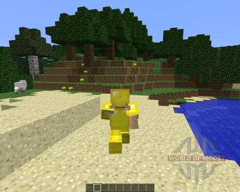 Animated Player [1.6.4] для Minecraft