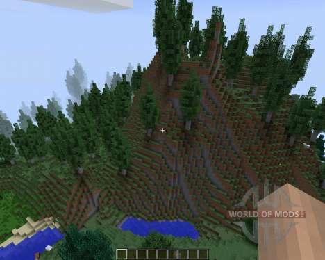 Highlands [1.7.2] для Minecraft