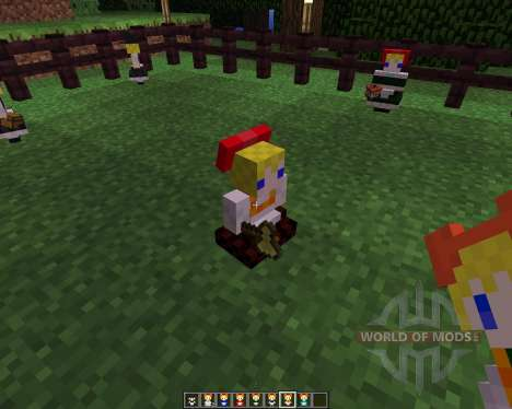 Touhou Alices Doll [1.5.2] для Minecraft