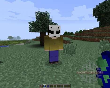 Slenderman [1.7.2] для Minecraft
