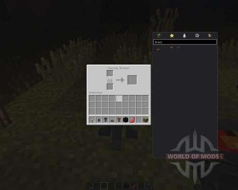 Brazier для Minecraft