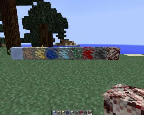 Dense Ores [1.8] для Minecraft
