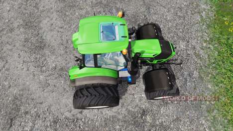 Deutz-Fahr Agrotron 7250 Dynamic8 v1.3 для Farming Simulator 2015