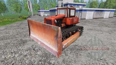 ДТ-75 лесохозяйственный для Farming Simulator 2015
