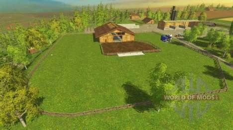 Модифицированный Бьорнхольм для Farming Simulator 2015