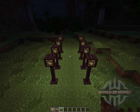 Lamp Posts [1.7.2] для Minecraft