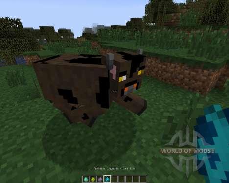 Elemental Cows [1.7.2] для Minecraft