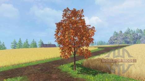 Осенние деревья для Farming Simulator 2015